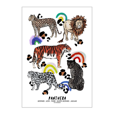 PANTHERA Rainbow Children's Poxter 50x70cm