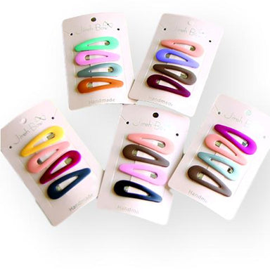 Bonita Hairclip Set of 4 Clips Assorted