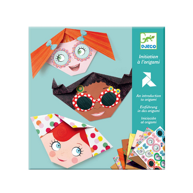 Origami Kit - Faces 28 pcs