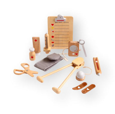 Iconic Toy - Wooden Doctor Kit