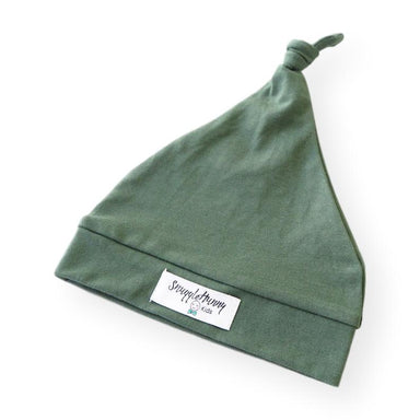 Knotted Beanie | Olive