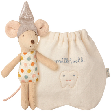 Maileg Mouse - Tooth Fairy and Pouch