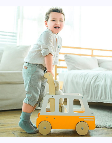 Moover Line School Bus Push Walker SOLD OUT TILL LATE-2020
