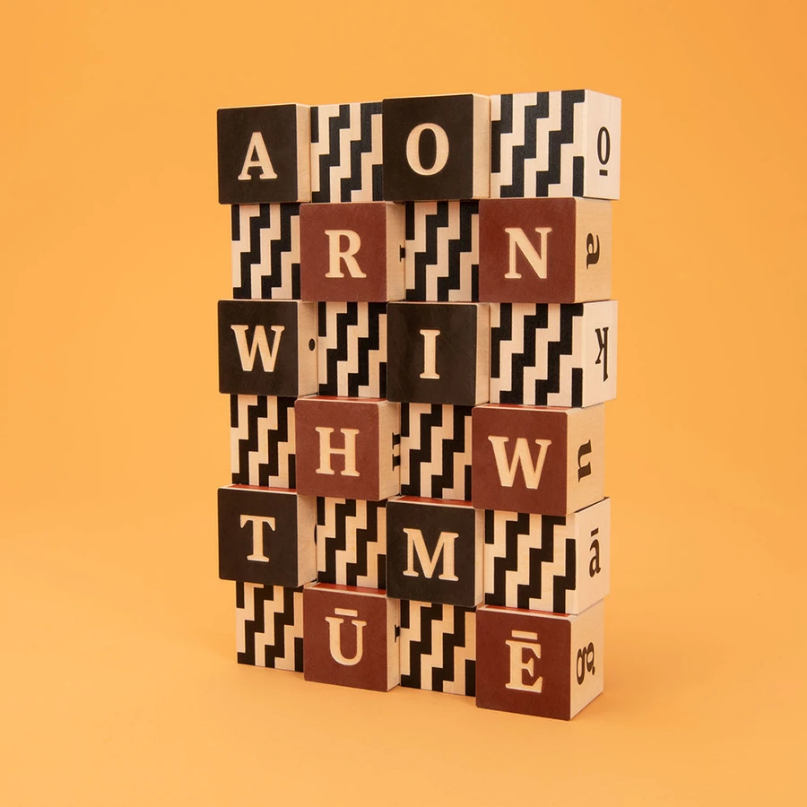 Uncle Goose - Maori Alphabet Blocks