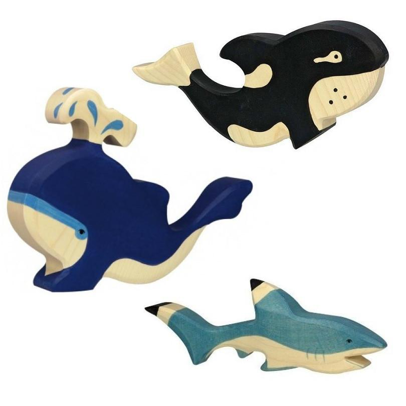 LOVE THIS! Wooden Orca - Holztiger from Holztiger - shop at littlewhimsy NZ