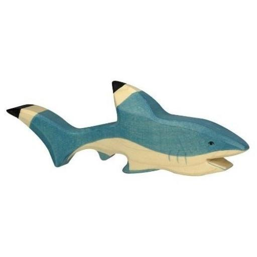 LOVE THIS! Wooden Shark - Holztiger from Holztiger - shop at littlewhimsy NZ