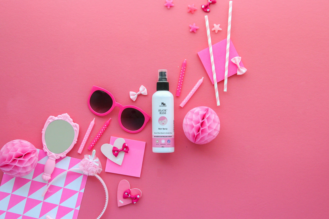LOVE THIS! SLiCK KiDS™ Hair Spray from No Nasties - shop at littlewhimsy NZ