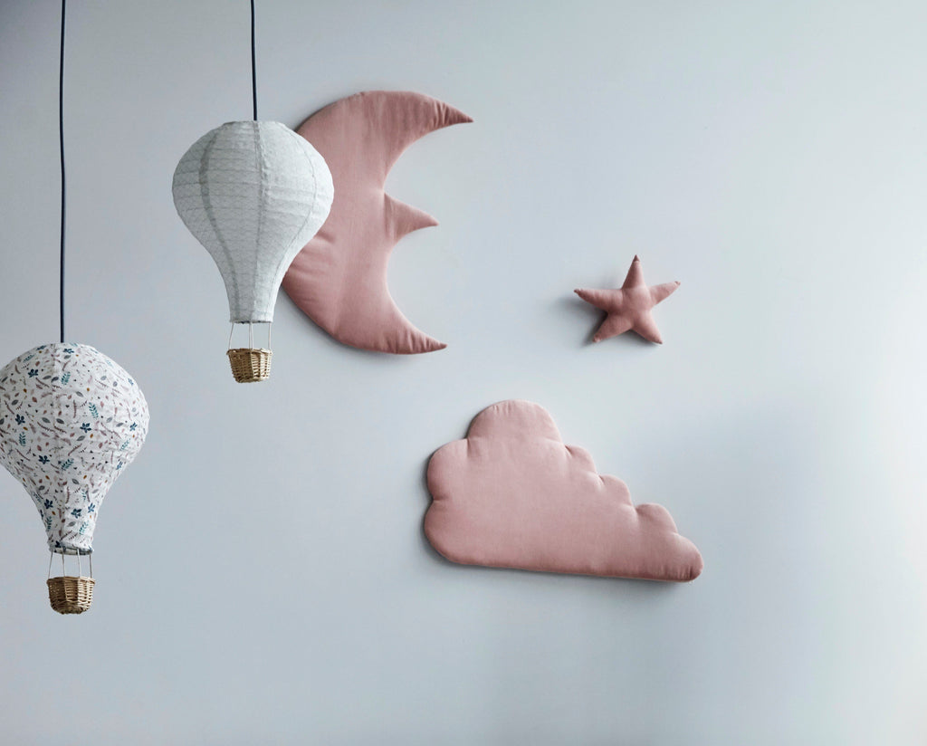 LOVE THIS! Cam Cam Hot Air Balloon Lamp Shade - Pressed Leaves from CamCam - shop at littlewhimsy NZ
