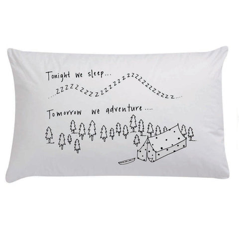 LOVE THIS! Tonight We Sleep Organic Pillow Case from 100 Percent Heart - shop at littlewhimsy NZ