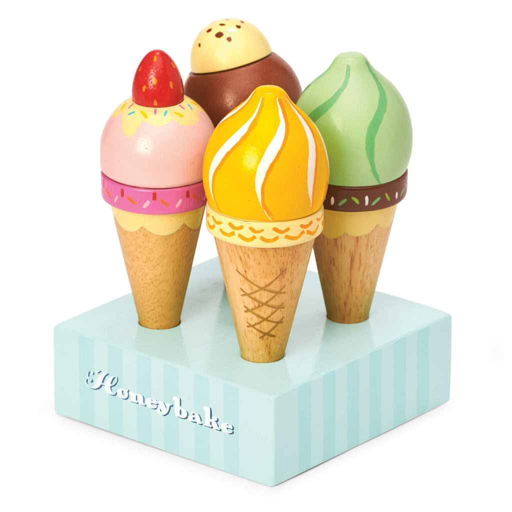 LOVE THIS! Le Toy Van Ice Creams from Le Toy Van - shop at littlewhimsy NZ