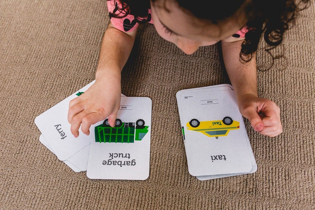 LOVE THIS! Flash Cards - Transport from Two Little Ducklings - shop at littlewhimsy NZ