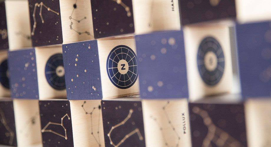 LOVE THIS! Uncle Goose - Constellations Blocks from Uncle Goose - shop at littlewhimsy NZ