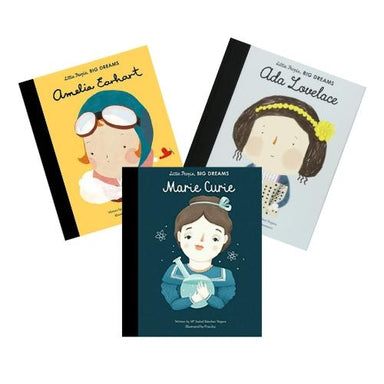 LOVE THIS! Little People, Big Dreams - Women in Science Box Set from Penguin Books - shop at littlewhimsy NZ