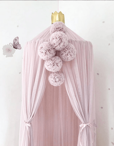 LOVE THIS! Spinkie Pom Garland in PALE ROSE from Spinkie - shop at littlewhimsy NZ
