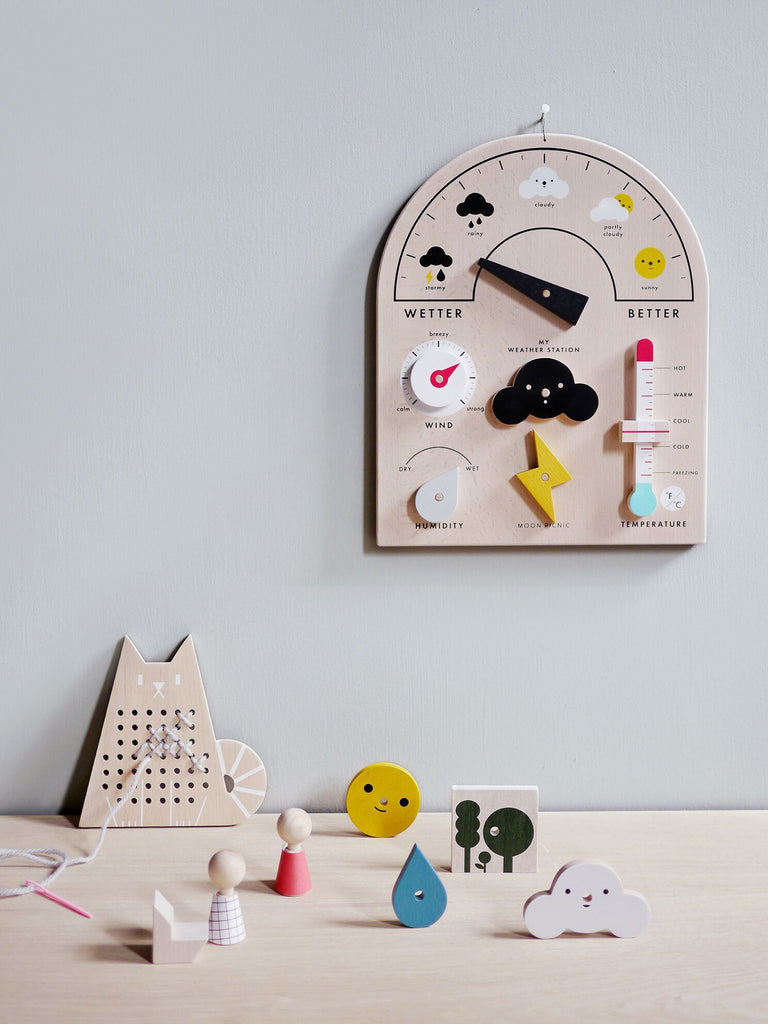 LOVE THIS! My Weather Station from Moon Picnic - shop at littlewhimsy NZ
