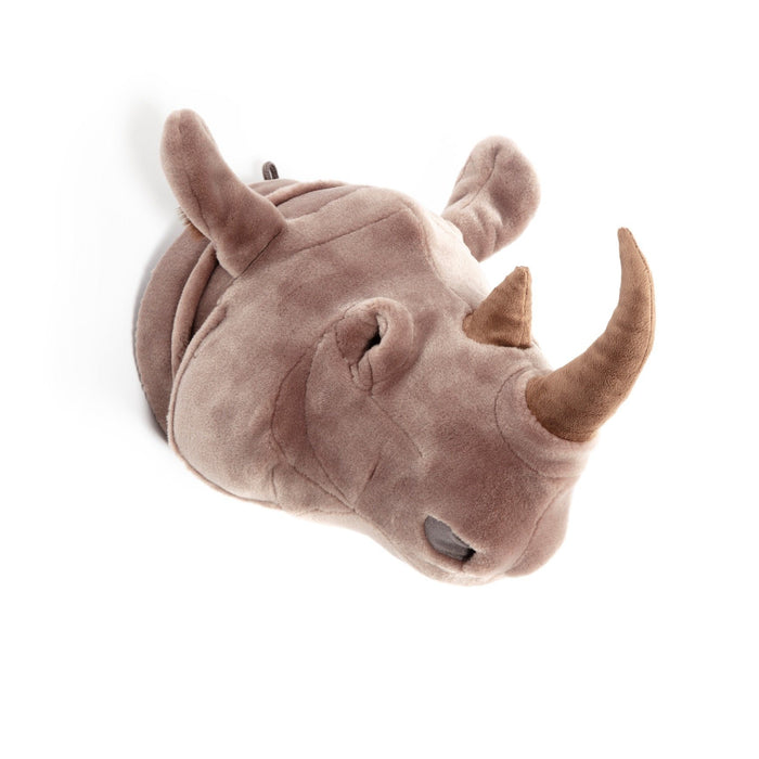 LOVE THIS! Michael the Rhino - Wild & Soft Animal Head Large from Wild & Soft - shop at littlewhimsy NZ