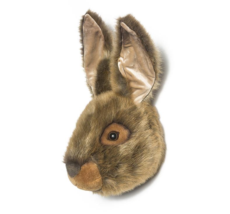 Lewis the Hare - Wild & Soft Animal Head Large