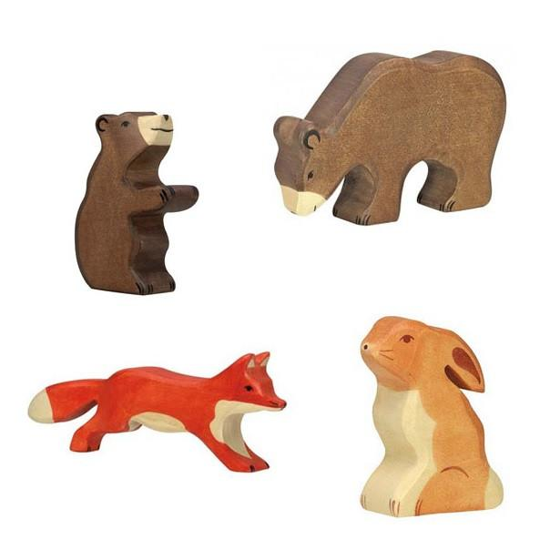 LOVE THIS! Wooden Fox - Holztiger from Holztiger - shop at littlewhimsy NZ