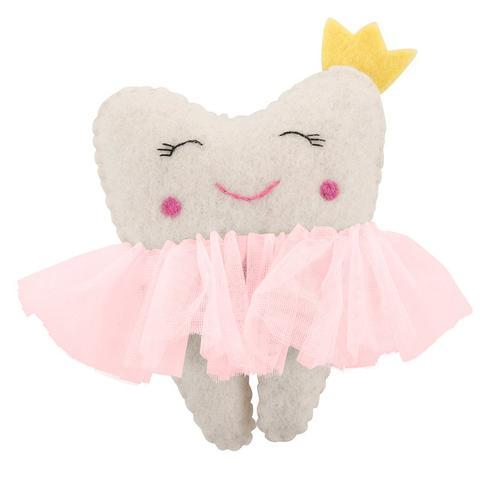 LOVE THIS! Ballerina Tooth Pillow from Pashom - shop at littlewhimsy NZ