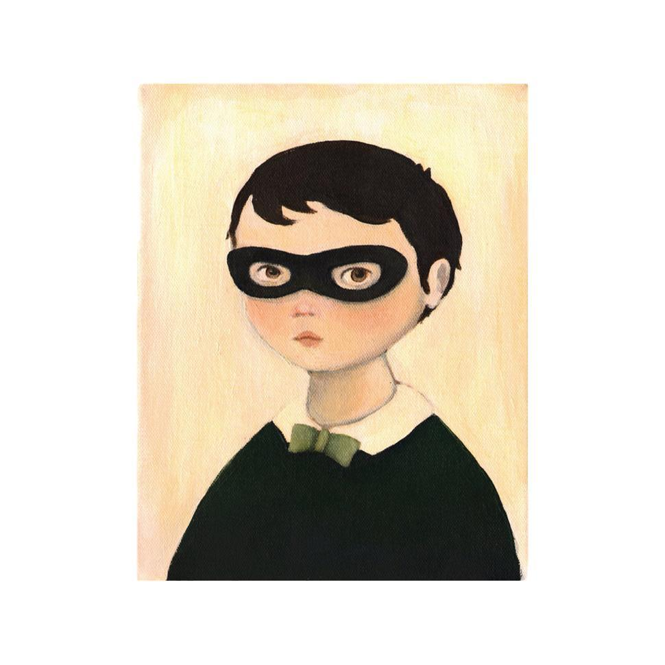 LOVE THIS! Bandit Boy Art Print from Emily Winfield Martin - shop at littlewhimsy NZ