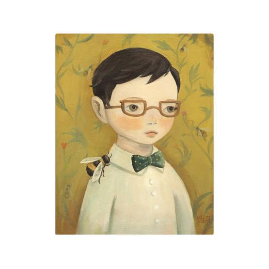 LOVE THIS! Boy and Bee Art Print from Emily Winfield Martin - shop at littlewhimsy NZ