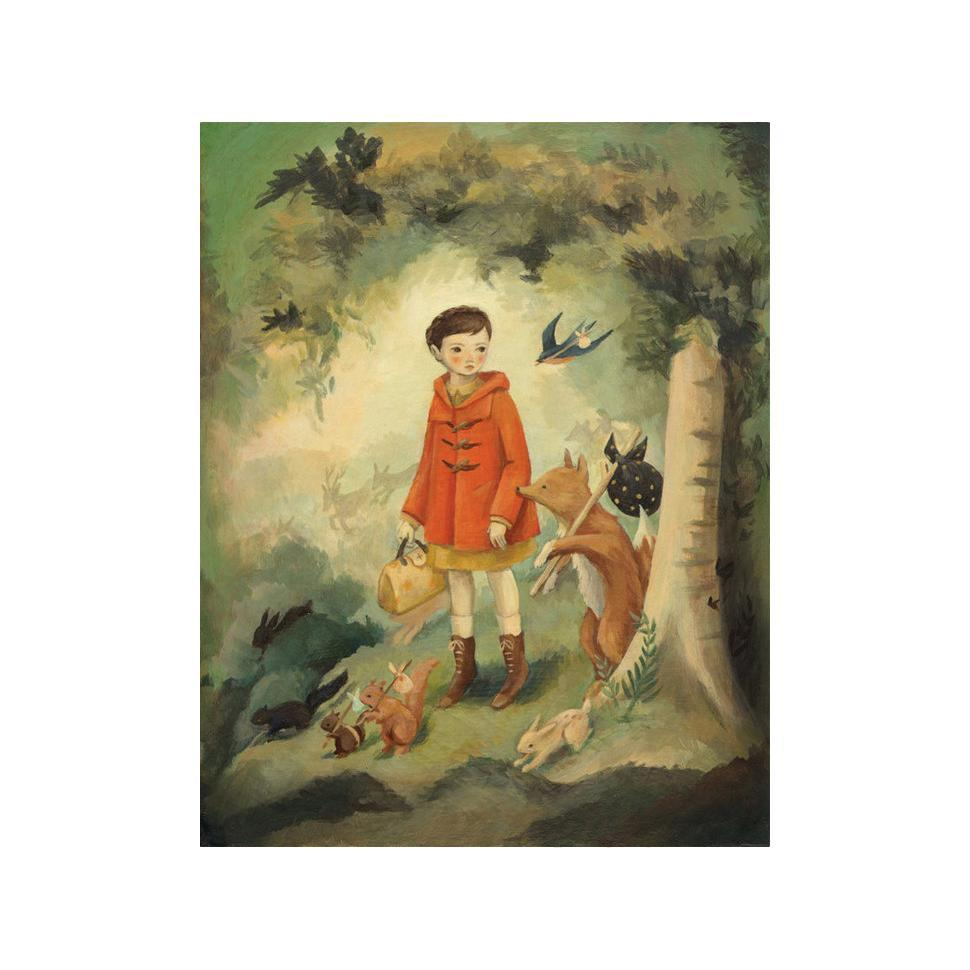 LOVE THIS! Out of the Woods (or How We Quit the Forest) Art Print from Emily Winfield Martin - shop at littlewhimsy NZ