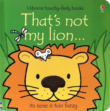 LOVE THIS! That's Not My Lion from Harper Collins - shop at littlewhimsy NZ