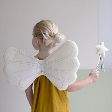 LOVE THIS! Fabelab Rainbow Dress Up Wings from Fabelab - shop at littlewhimsy NZ