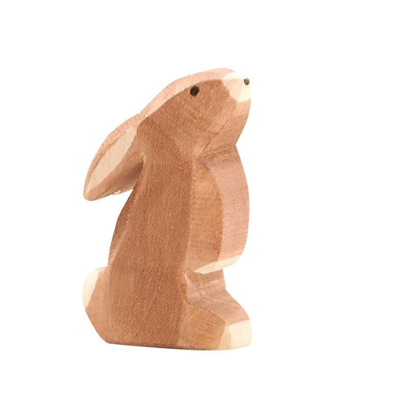 LOVE THIS! Ostheimer Bunny Rabbit Brown Ears Low from Ostheimer - shop at littlewhimsy NZ