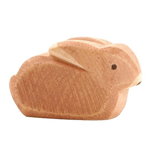 LOVE THIS! Ostheimer Bunny Rabbit Brown Small Sitting from Ostheimer - shop at littlewhimsy NZ