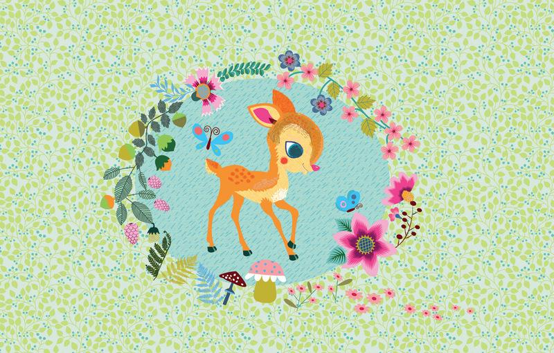 LOVE THIS! Fawn in the Woods - Jewellery Music Box from Djeco - shop at littlewhimsy NZ