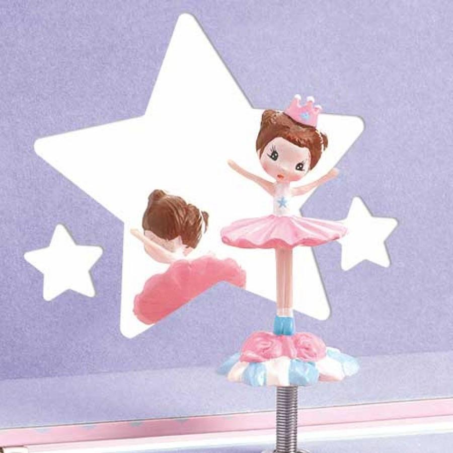LOVE THIS! Ballerina - Jewellery Music Box from Djeco - shop at littlewhimsy NZ