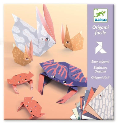 LOVE THIS! DJECO Easy Origami Kit - Family 28 pcs from Djeco - shop at littlewhimsy NZ