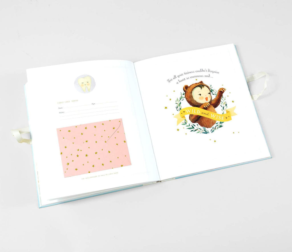LOVE THIS! The Wonderful Baby You Are - A Record of Baby's First Year from Emily Winfield Martin - shop at littlewhimsy NZ
