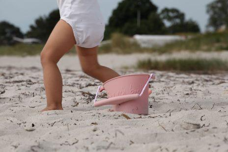 LOVE THIS! Scrunch Collapsible Bucket - Dusty Rose from Scrunch - shop at littlewhimsy NZ