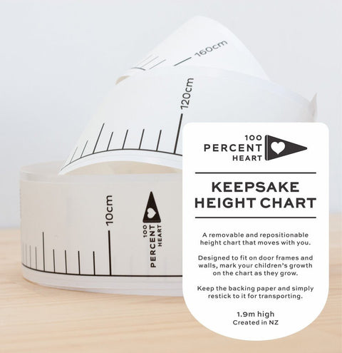 Keepsake Height Chart Decal - little whimsy - 1