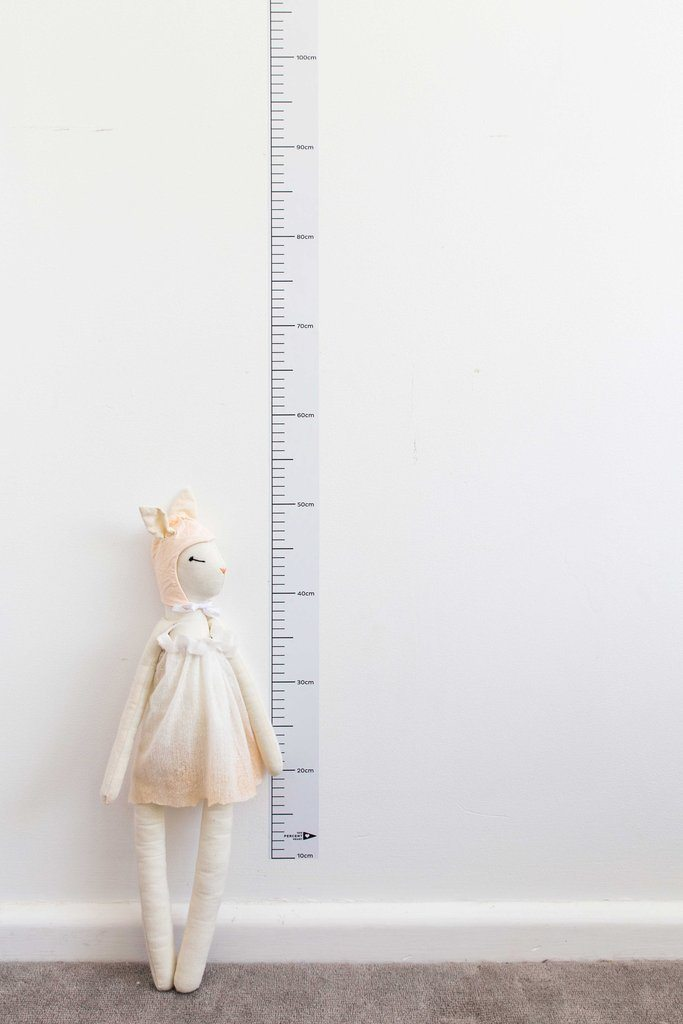 LOVE THIS! Keepsake Height Chart Decal from 100 Percent Heart - shop at littlewhimsy NZ