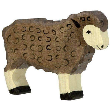 LOVE THIS! Wooden Sheep Black - Holztiger from Holztiger - shop at littlewhimsy NZ