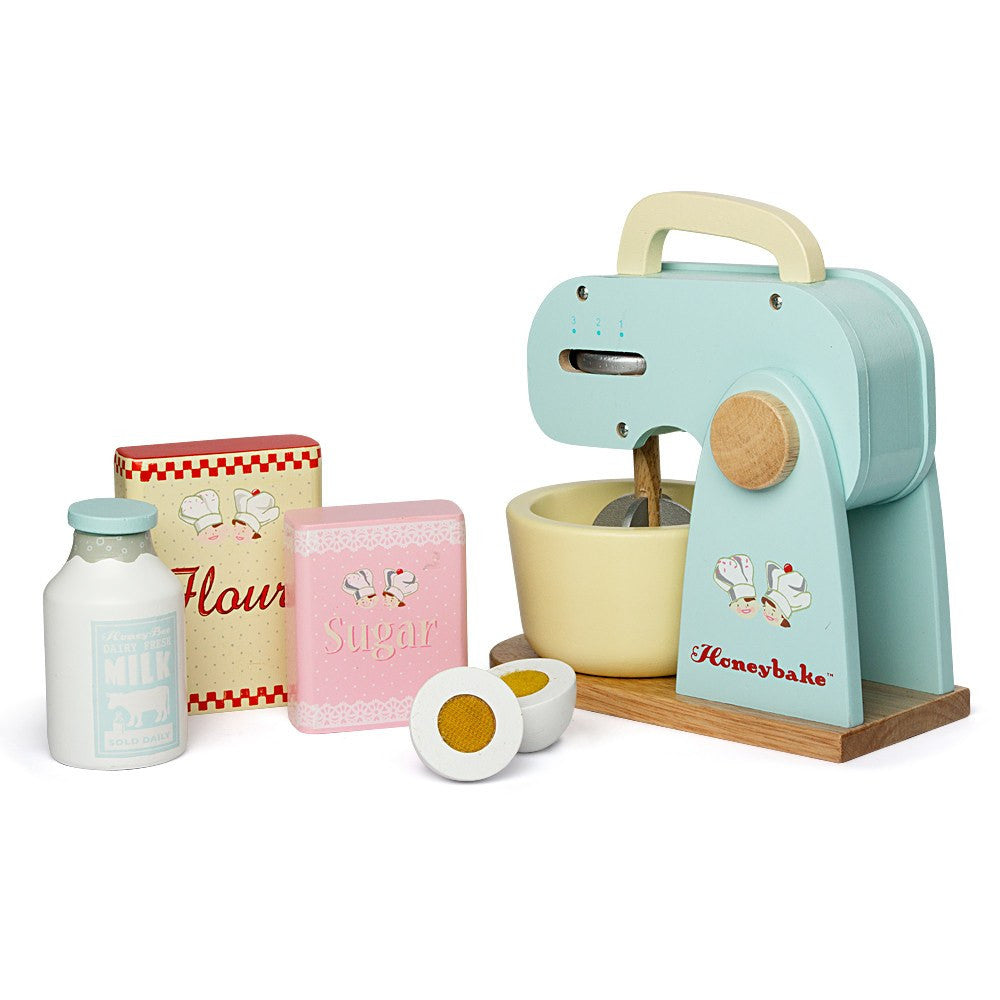 LOVE THIS! Le Toy Van Honeybake Mixer from Le Toy Van - shop at littlewhimsy NZ