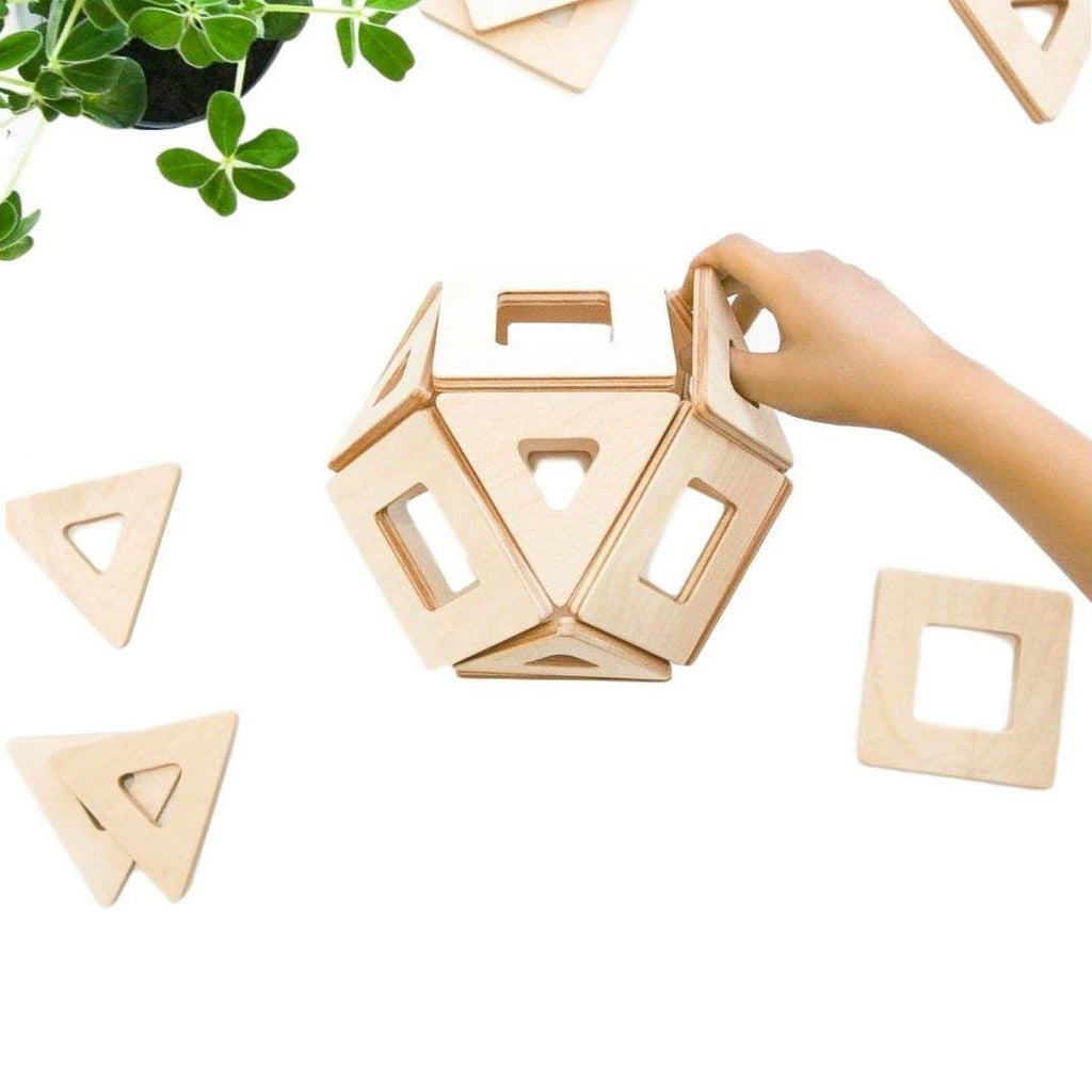 LOVE THIS! Earth Tiles Magnetic Natural from Big Future - shop at littlewhimsy NZ