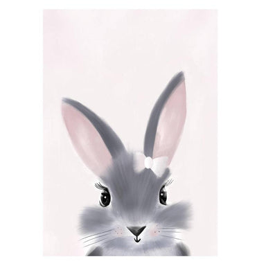 LOVE THIS! Little Miss Bunny Print from My Hidden Forest - shop at littlewhimsy NZ