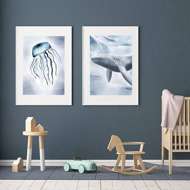 LOVE THIS! Jack the Jellyfish Print from My Hidden Forest - shop at littlewhimsy NZ