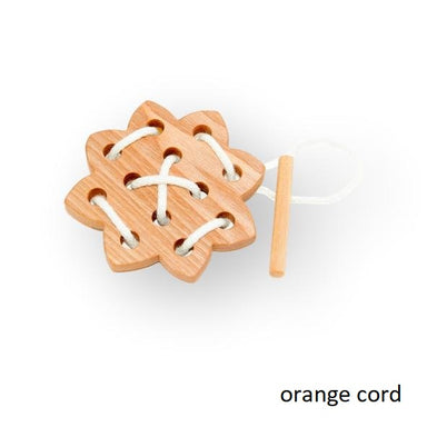 Wooden Lacing Sun Toy - Ash