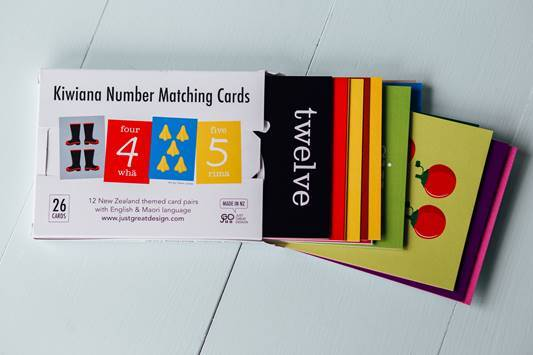 LOVE THIS! Kiwiana Number Matching Cards from Just Great Design - shop at littlewhimsy NZ