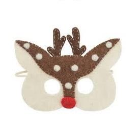 LOVE THIS! Felt Reindeer Mask from Pashom - shop at littlewhimsy NZ