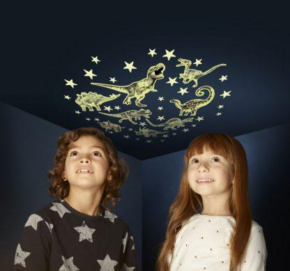 LOVE THIS! Glow Stars and Dinosaurs from The Original Glowstars - shop at littlewhimsy NZ