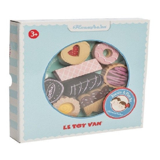 Le Toy Van Honeybake Biscuit and Plate Set - little whimsy - 2