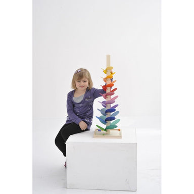 LOVE THIS! Magic Wood Marble Sounding Tree Tower - Medium from Magic Wood - shop at littlewhimsy NZ