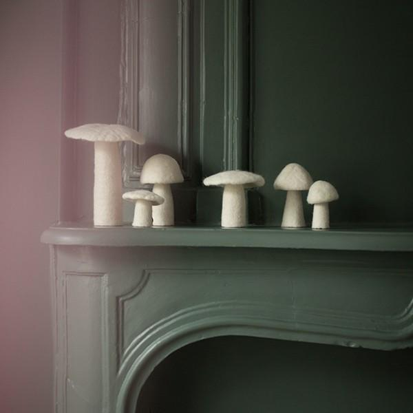 LOVE THIS! Muskhane Mushroom - Small 8cm - Morel Cumulus from Muskhane France - shop at littlewhimsy NZ