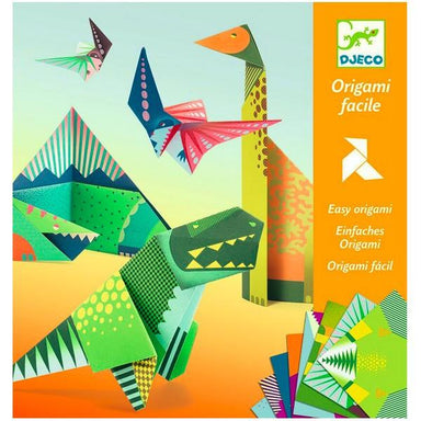 LOVE THIS! Origami Kit - Dinosaurs from Djeco - shop at littlewhimsy NZ